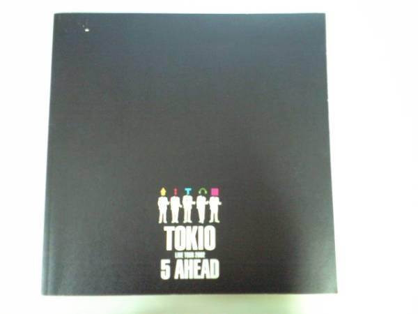 ☆TOKIO 2002年ツアーパンフ「5 AHEAD」☆長瀬智也国分太一