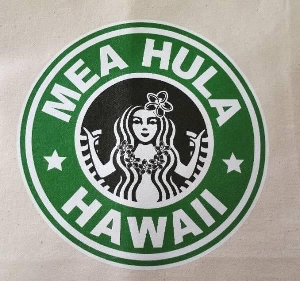 【10%OFF】人気♪ハワイ ハワイアン アイランド デザイン メアフラ トート バッグ マチなし フラガール ハワイアンバック 大きめ_画像3