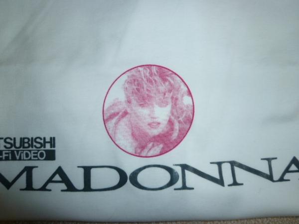 MADONNA マドンナ MITSUBISHI Hi-Fi Video 三菱ビデオ Tシャツ ライブグッズの画像
