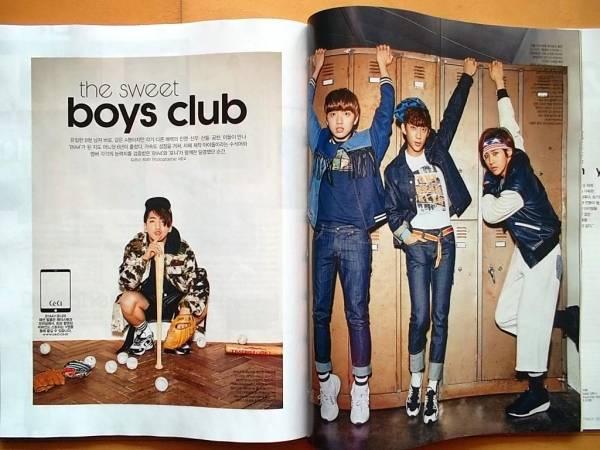 [B1A4] 韓国雑誌切り抜き8P+目次/2016年3月号 ライブグッズの画像