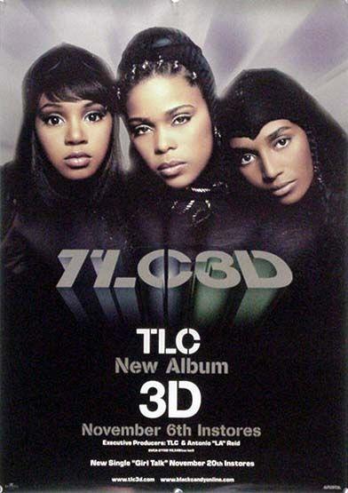 TLC T-ボズ レフト・アイ チリ B2ポスター (K03009)