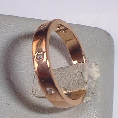 スタージュエリーk18ピンクゴールドダイヤリングused 質屋出品