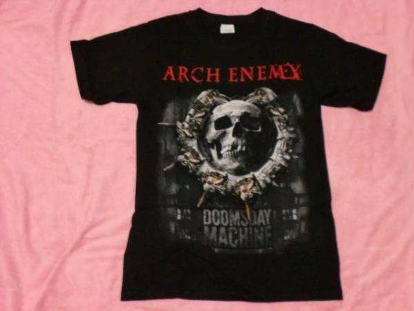 ARCH ENEMY アーチ エネミー バンドTシャツ S ツアーT ロックT