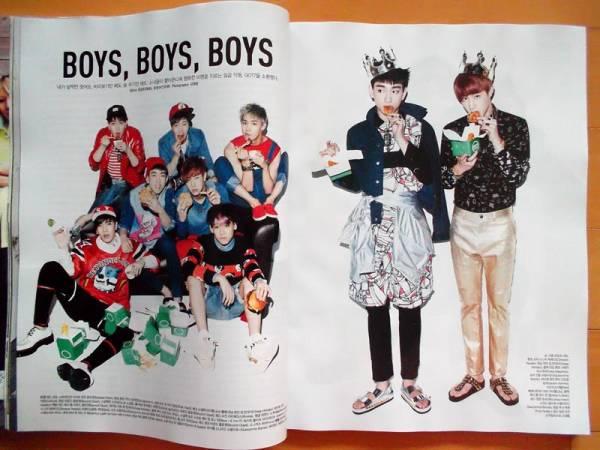 [GOT7] 韓国雑誌切り抜き7P+1P/2014年3月