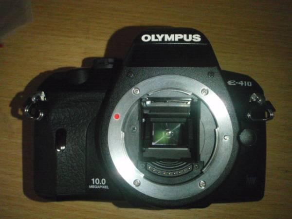 O001-E410-1 デジタル一眼カメラ ボディー本体 E-410(故障品)