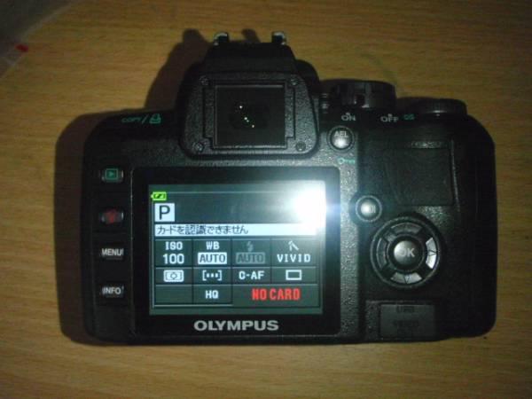 O001-E410-1 デジタル一眼カメラ ボディー本体 E-410(故障品)_画像2