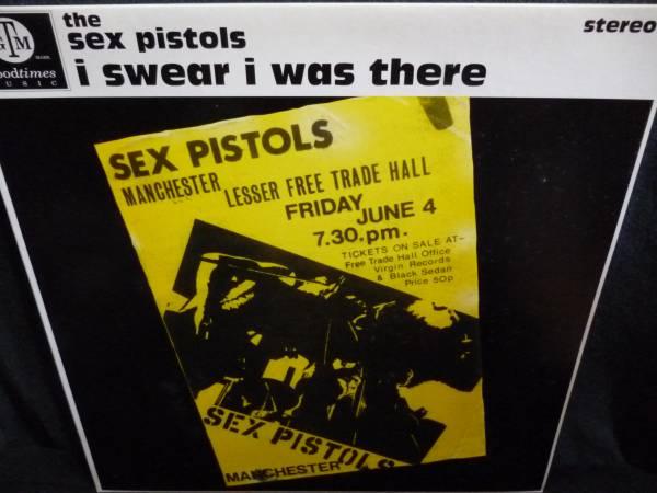 SEX PISTOLS - I Swear I Was There LP, 2005 UK оригинальный пластинка