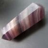 蛍石(フローライト)◆石英水晶ポイント#5 原石 天然石 56g