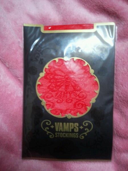 VAMPS LIVE 2008 ストッキング 赤 新品未開封 HYDE K.A.Z ラルク