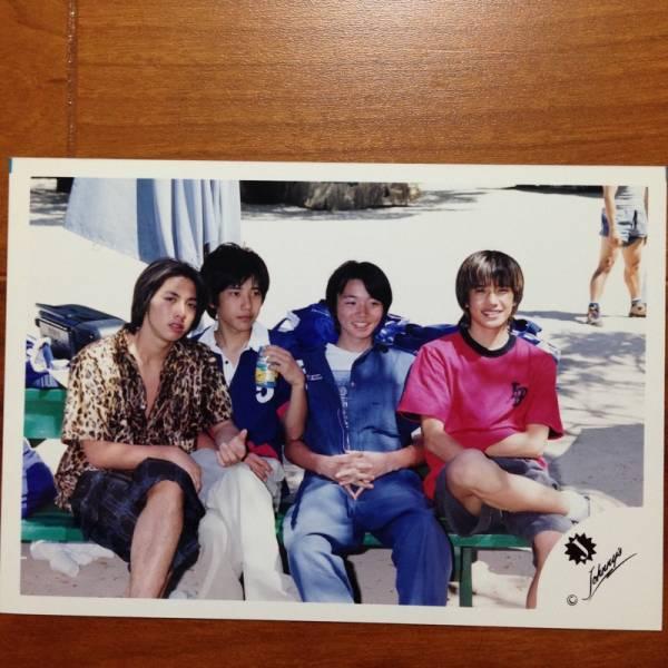 即決¥1500★嵐 公式写真 018★二宮和也 滝沢 小原 Jr. Jロゴ