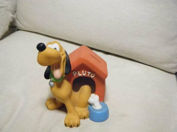 ディズニー プルートの貯金箱 ディズニーグッズの画像
