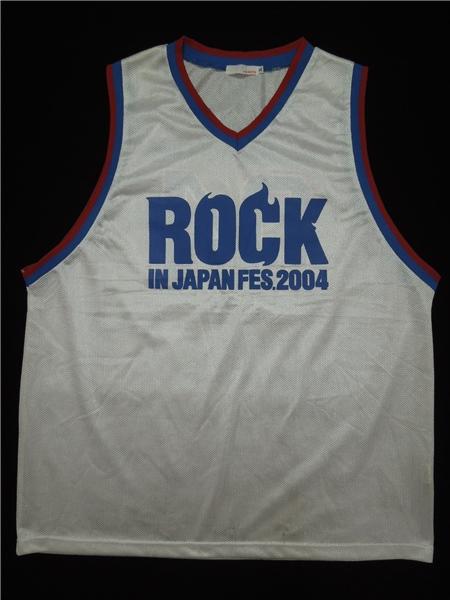 ROCK IN JAPAN FES. 2004★ノースリーブ ゲームシャツ XL◆g64