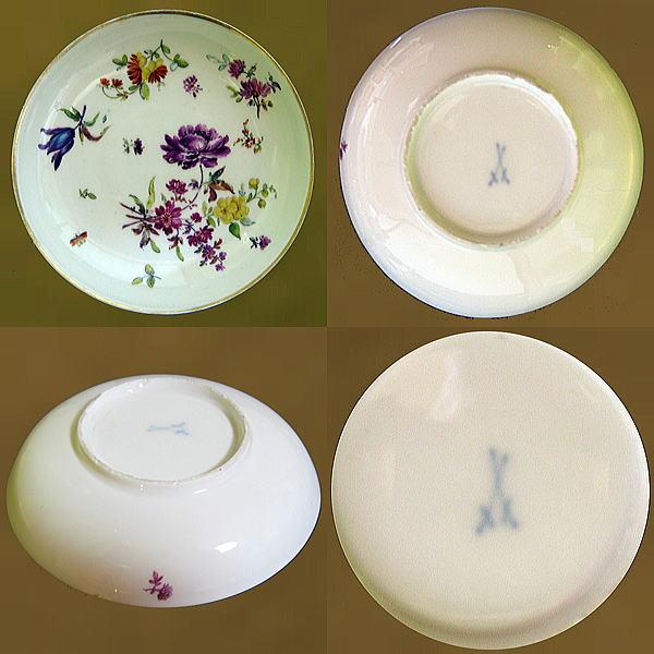 マイセン Meissen 18世紀 小皿 【 皿 1740年 前後 】