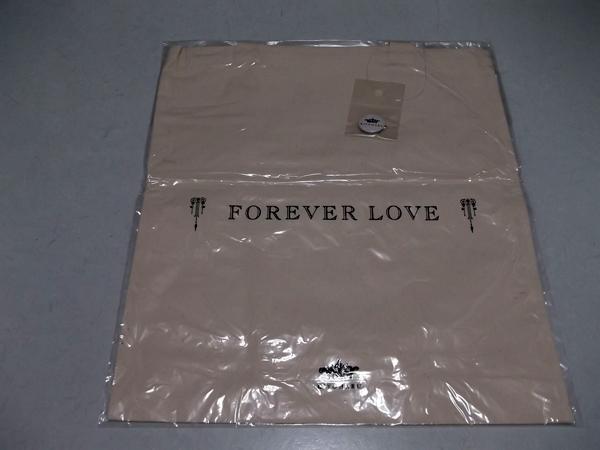 ■清春★ForeverLove【布製手提げバッグ/未開封新品】缶バッジ付