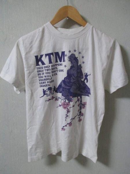 KTM ケツメイシ サクラ二晩春フェス Tシャツ 白 Sサイズ