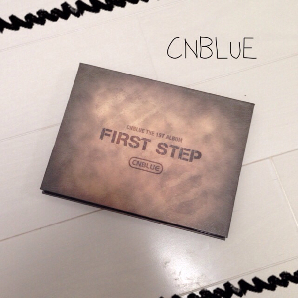 送料込*CNBLUE FIRST STEP CD*154-21メ