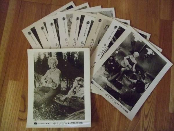 マリリンモンロー 帰らざる河 大型ロビーカード 10枚組完全揃 グッズの画像