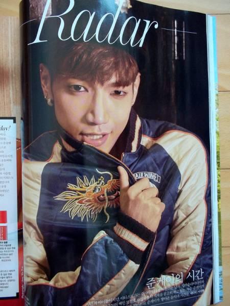 [2PM JUN.K] 韓国雑誌切り抜き 特集7P/2016年8月号