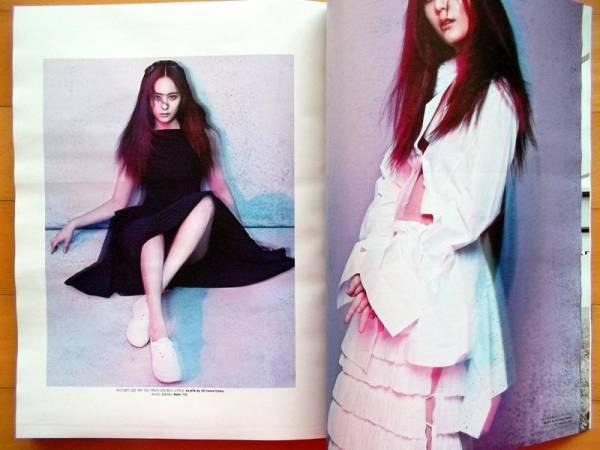 F(x) Krystal Amber ソヒョン 韓国雑誌10P/2015年4月号 ライブグッズの画像