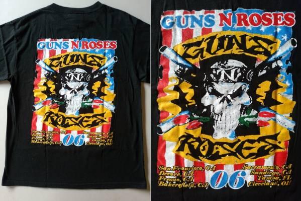 激レア ヴィンテージ◆ガンズ GUNS N' ROSES '06 ツアー Tシャツ◆METALLICA IRON MAIDEN FOG_画像1