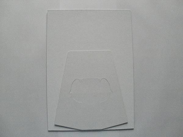 さいはて岬 岩本公水 告知用ポップスタンド(紙製組立式)未使用品_裏面