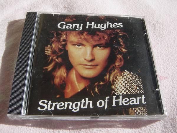 Gary Hughes 「STRENGTH OF HEART」 メロディアス・ハード系名盤 オリジナル盤_画像1