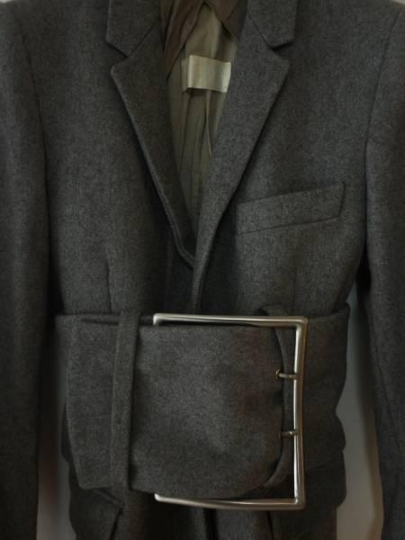 【値下げ交渉あり】マルタンマルジェラ 初期 幻 ビッグベルトコート ドール レア アーカイブ 白タグ_画像2