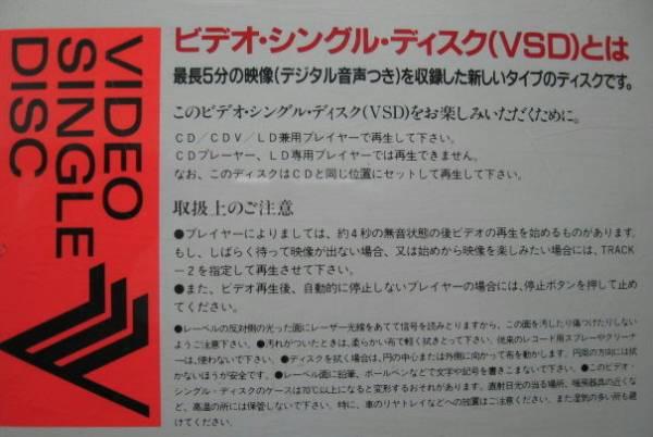 今は無き貴重VSD/どうするの赤坂/山田邦子&高嶋政伸/VCD*CDV_画像2