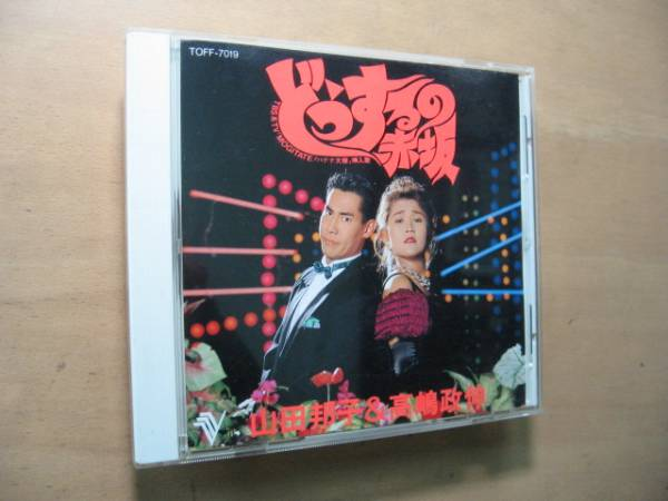 今は無き貴重VSD/どうするの赤坂/山田邦子&高嶋政伸/VCD*CDV_画像1