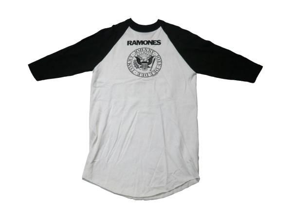 RAMONES 新品オフィシャルラグランTシャツ YOUTH Lサイズ!