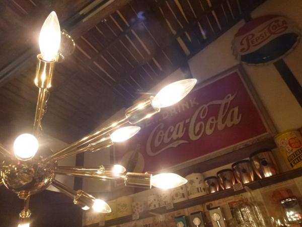 スプートニクライト 18灯 50'S スターライト アメリカン 天井照明 USA シーリングライト ビンテージスタイル ミッドセンチュリー_画像3