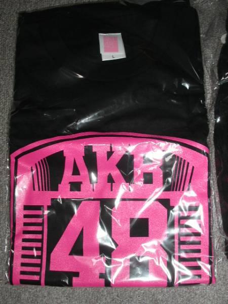 新品 二本柱の会限定 AKB48 オリジナルTシャツ サイズL ブラック ライブ・総選挙グッズの画像