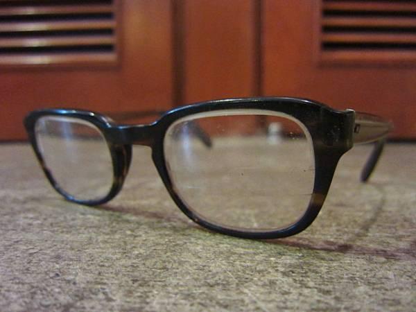 ビンテージ60's★鼈甲柄フレーム眼鏡★50's70'sサングラス古着卸_画像1