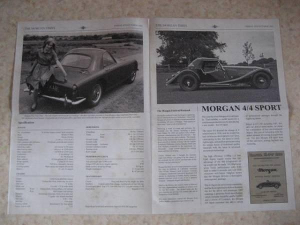 モーガンタイムズ1963年版・稀少品・英国車★MGミニローバーMINI_画像2