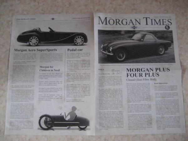 モーガンタイムズ1963年版・稀少品・英国車★MGミニローバーMINI_画像3