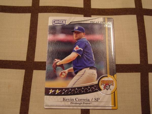 限定稼動◆SEGA CARD-GEN MLB 2011◆白 [ケビン・コケイア]_画像1