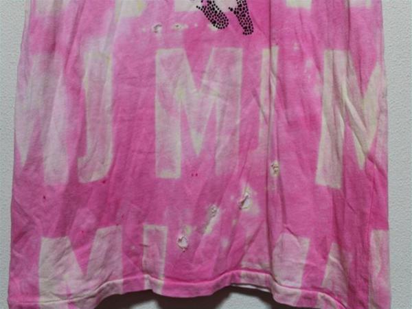 アイコニック ICONIC マイケルジャクソン レディース半袖Tシャツ ピンク Mサイズ 新品_画像4