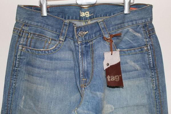 タグジーンズ TAG JEANS メンズデニムパンツ 34インチ 新品_画像2