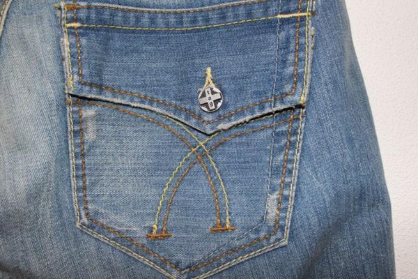 タグジーンズ TAG JEANS メンズデニムパンツ 34インチ 新品_画像7