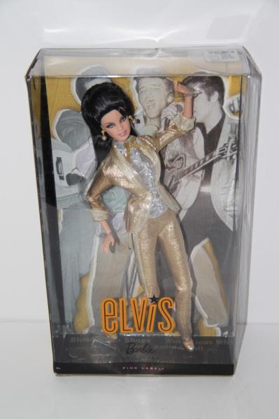 ★バービー ドール Barbie Loves Elvis ! ピンク ラベル ! 人形 エルヴィス プレスリー Presley rockabilly_画像4