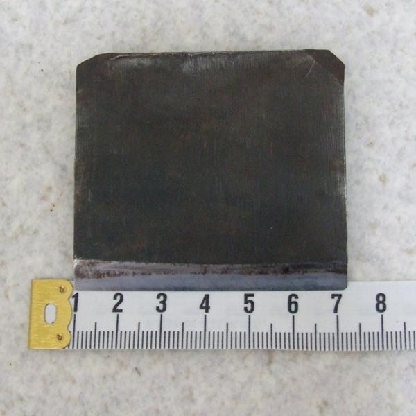 ◆鉋 鉋刃 鉋身 兼政 表 裏 刃幅62mm レターパック発送 ◆_画像5
