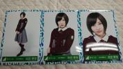 欅坂46 志田愛佳 生写真 3rdシングル オフィシャル制服衣装 会場 3枚コンプ K-4