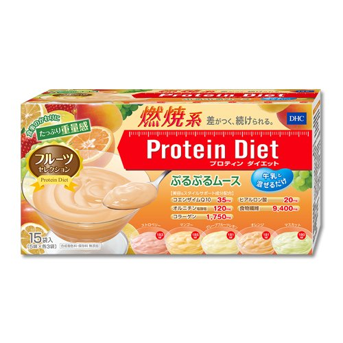 ■DHCプロテインダイエット ぷるぷるムース/15袋入り/ギフト可