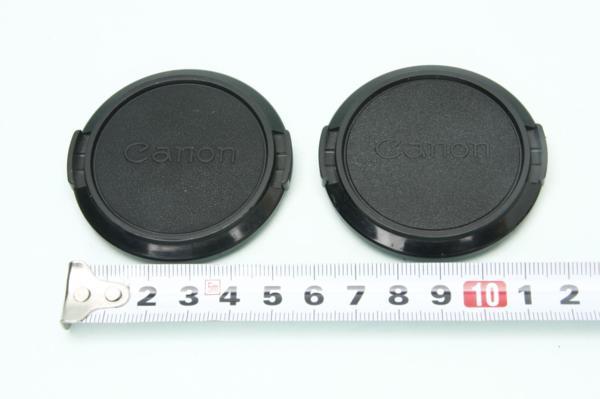 ※ 純正 52mm キャノン 2枚セット 2個 New FD FL キャップ 0081L5