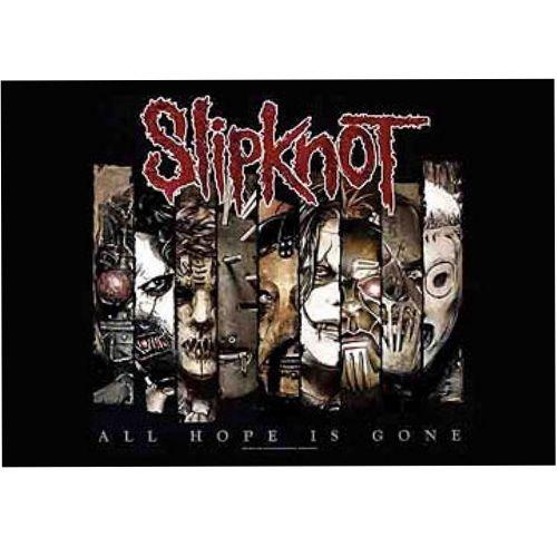 海外限定 公式 Slipknot スリップノット 特大布ポスター G138