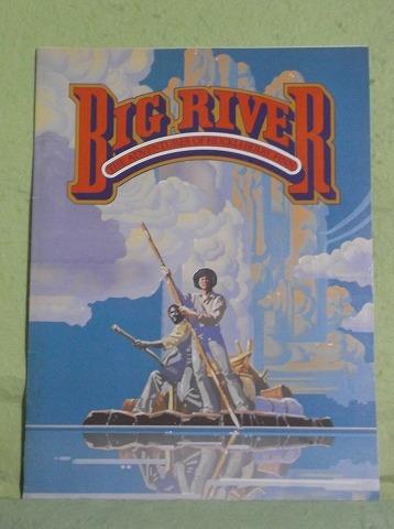 ◆舞台パンフ BIG RIVER ビッグ・リバー US版