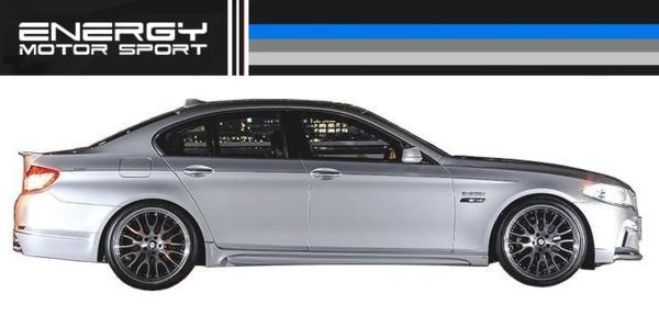 【M's】BMW 5シリーズ ENERGY エアロ 4点 FRP+カーボン EVO 10.2_画像3