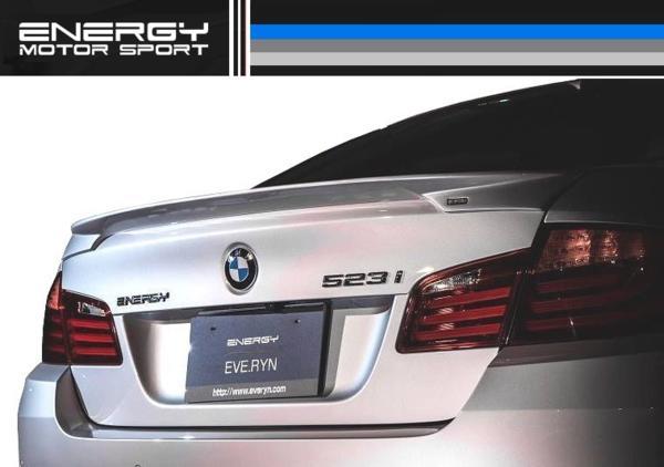 【M's】BMW 5シリーズ ENERGY エアロ 4点 FRP+カーボン EVO 10.2_画像10