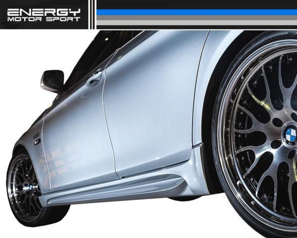 【M's】BMW 5シリーズ ENERGY エアロ 4点 FRP+カーボン EVO 10.2_画像6