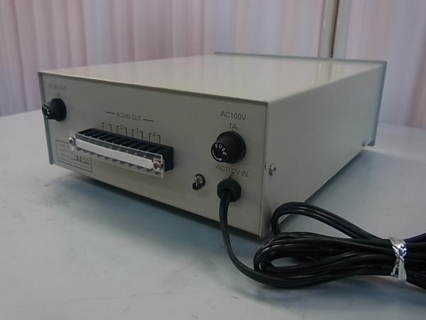 ■■【即決】HITACHI 日立 防犯カメラ・監視カメラ用 電源装置 PU-104 AC24V 4系統 駆動ユニット_画像2